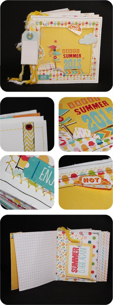 Scrapbooking - Kartenminibook - Geschenk - Überraschung