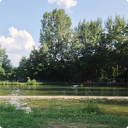 Naturfreibad - Ruhe - Sommer