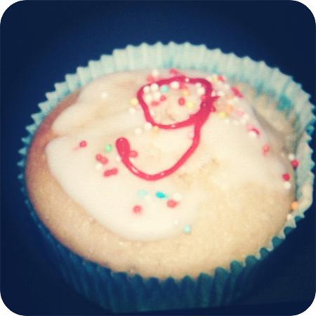 9 - Geburtstag - Muffin