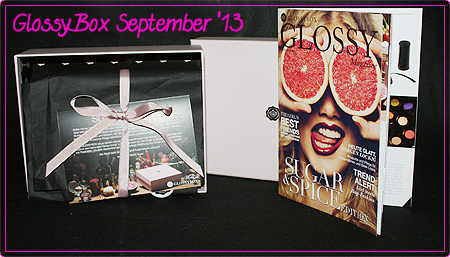 GlossyBox – September 2013