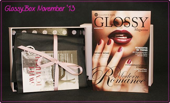 GlossyBox – November 2013
