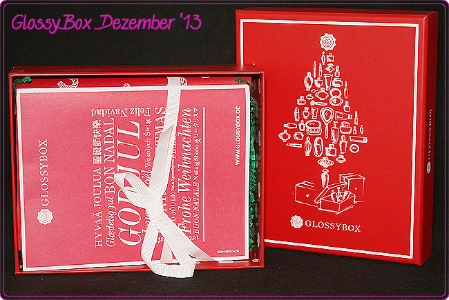 GlossyBox – Dezember 2013