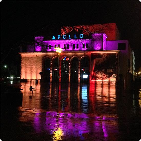 12 von 12 - Februar 2014 - Theater - Apollo - Iphigenie auf Tauris
