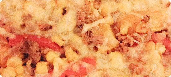 Vegetarische Pizza - Tagebuchbloggen März