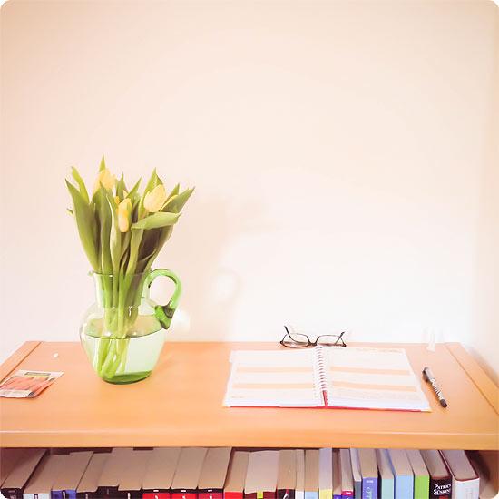 12 von 12 - März 2014 - Frühling - Tulpen - gelb