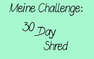 30 Day Shred - Level 1 geschafft