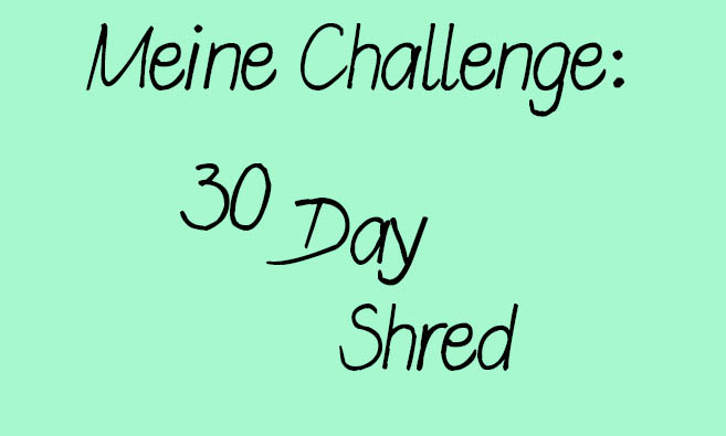 30 Day Shred – Level 3 (fast) geschafft