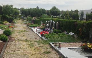 Trauer - auf dem Friedhof wird es nicht besser