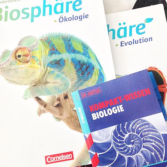 12 von 12 - September 2014 - Biologie - Abitur - Leistungskurs - Ökologie, Genetik, Evolution