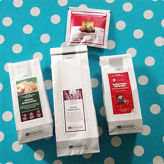 12 von 12 - September 2014 - Auswahl an Tee