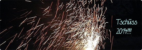 Jahresrückblick - Dezember 2014 - Silvester - Feuerwerk
