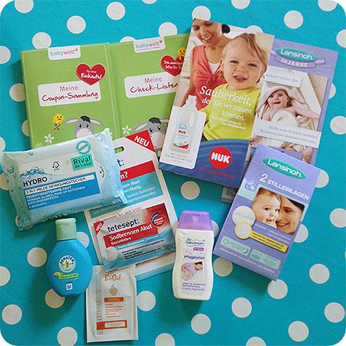 Rossmann Babywelt Vorfreude Tasche Inhalt