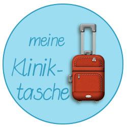 Ich packe meinen Koffer... - Kliniktasche olé
