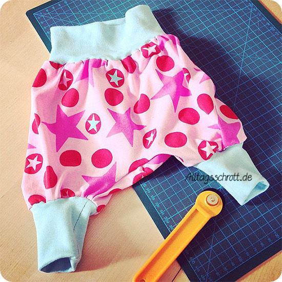 Babypumphose - genäht - DIY