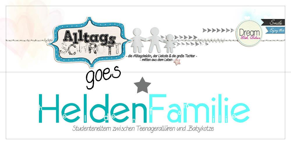 """aus """"Alltagsschrott"""" wird """"Helden-Familie"""""""