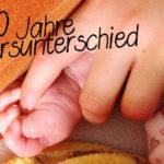 Große Tochter, kleine Tochter – 10 Jahre Altersunterschied