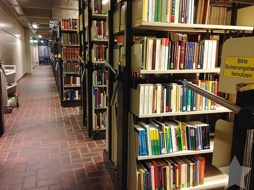 12 von 12 - Januar - Uni-Bibliothek