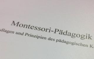 Hausarbeit - Montessori-Pädagogik