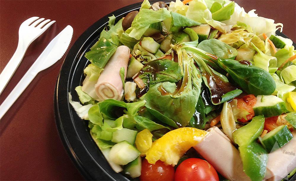 12von12 - Februar 2016 - Salat zu Mittag