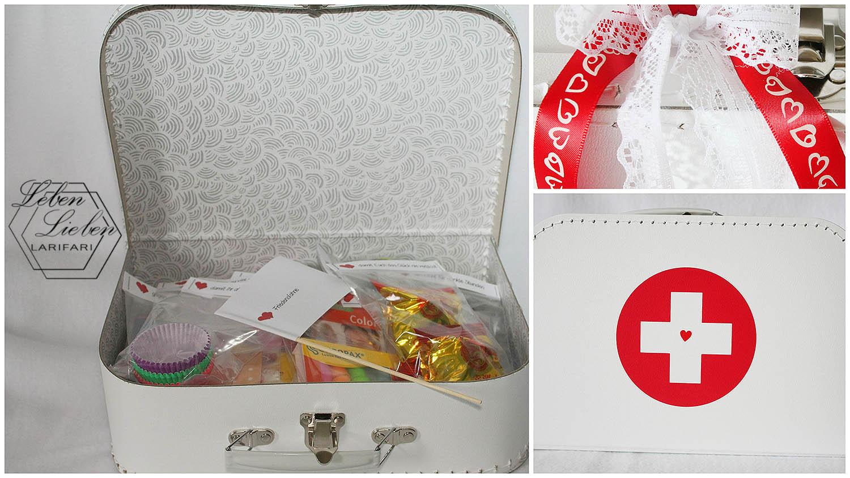 Diy Geschenk Zur Hochzeit Ehe Notfall Koffer Schnell