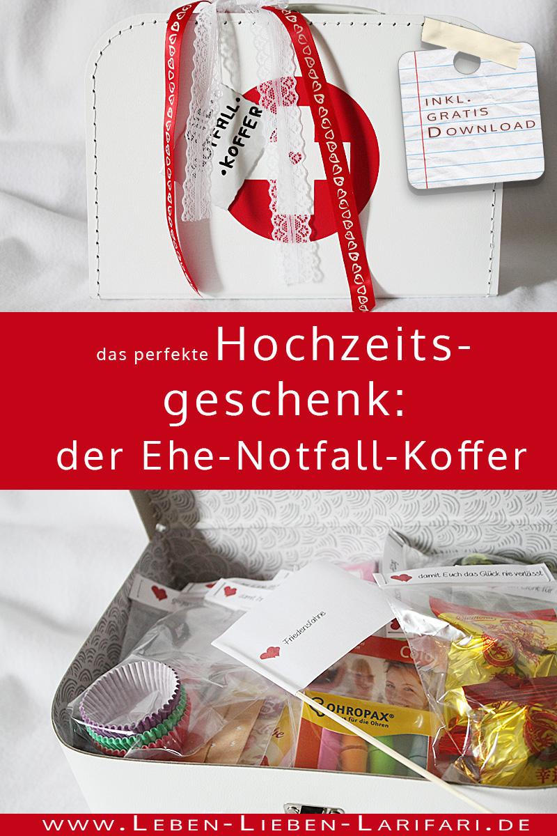 Ehe-Notfall-Koffer | DIY für ein Hochzeitsgeschenk