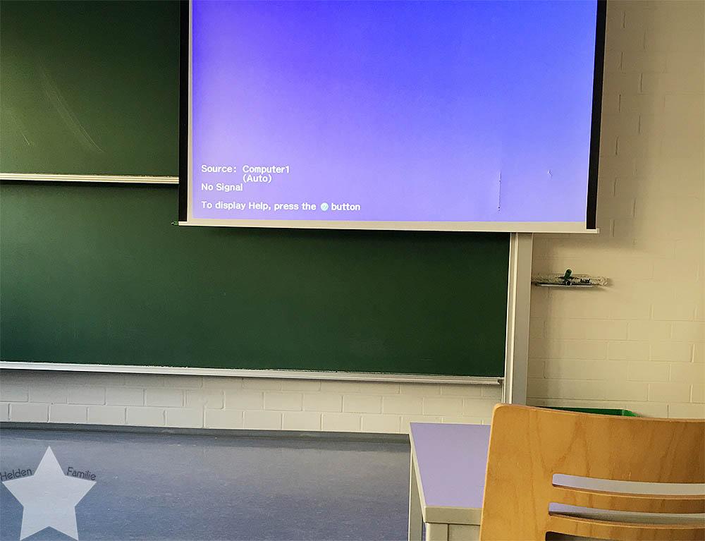 12 von 12 - April 2016 - Vorlesung ohne Präsentation