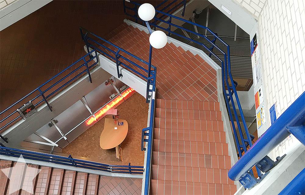 Wochenende in Bildern - Treppen halten fit - www.helden-familie.de