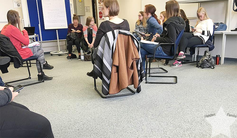 Wochenende in Bildern - Stuhlkreis im Stuhlkreis -www.helden-familie.de