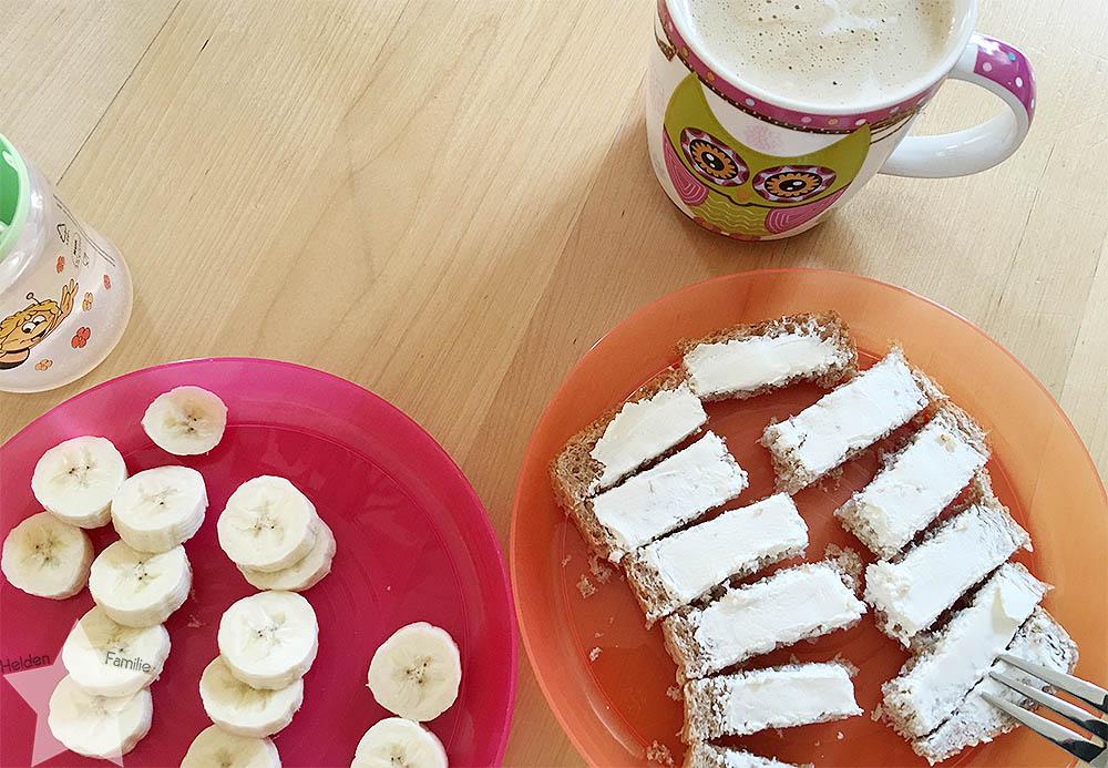 Wochenende in Bildern - Frühstück - Aufräumwochenende