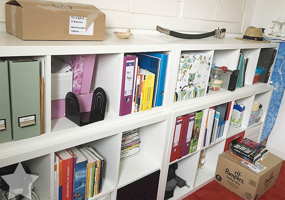 Wochenende in Bildern - Büro aufgeräumt- Aufräumwochenende