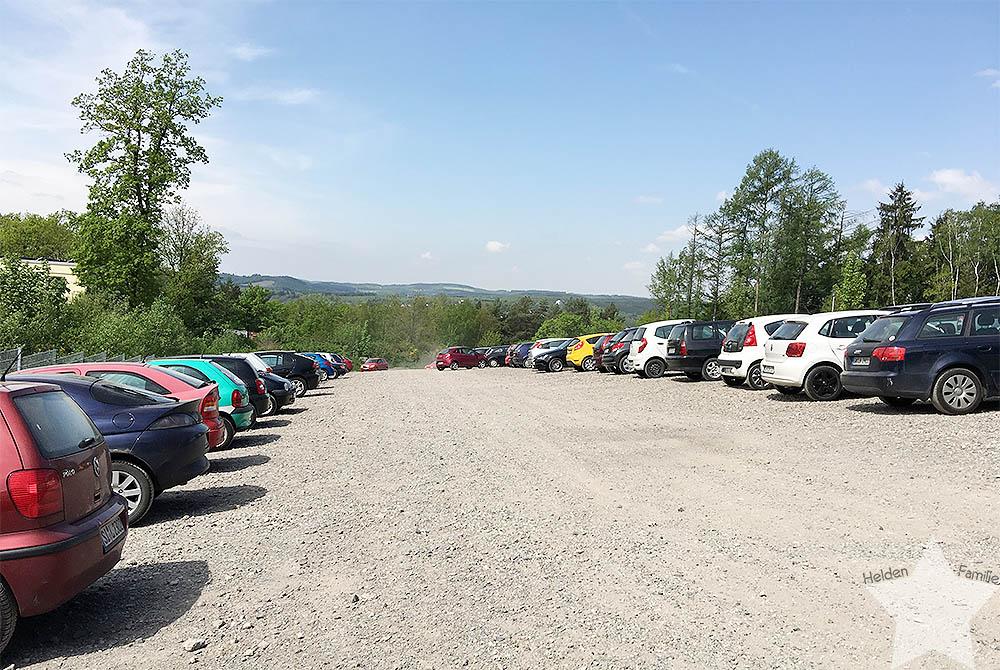 12 von 12 - Mai 2016 - Uni - Parkplatzmangel