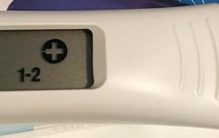 Schwangerschaftstest mit Wochenbestimmung - 1-2