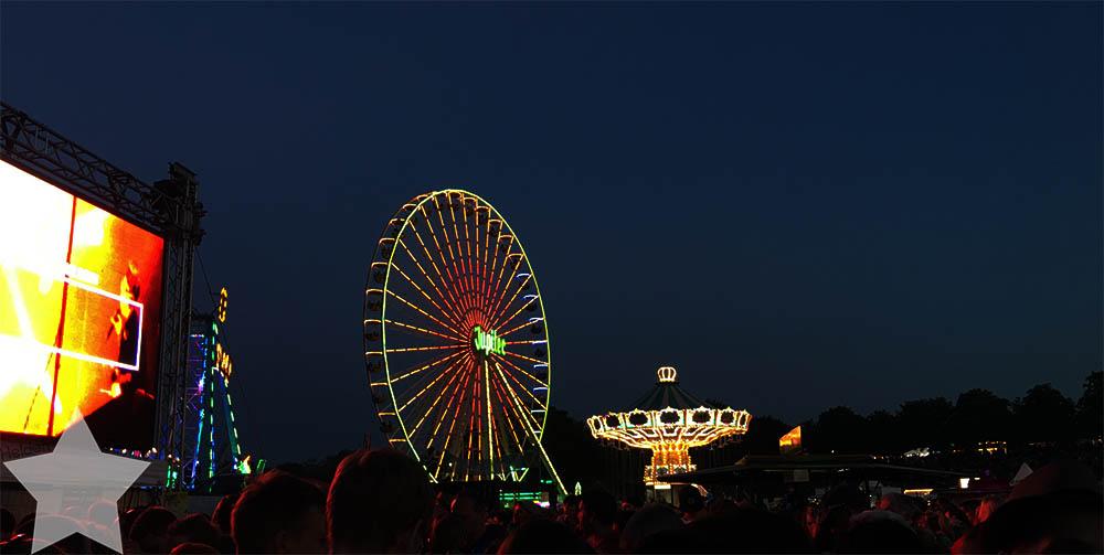 Wochenende in Bildern - Rhein in Flammen - Lichtspiel am Abendhimmel