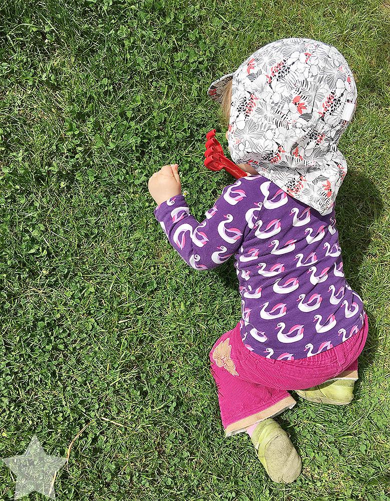 Wochenende in Bildern - ein Vorgeschmack auf den Sommer - Baby im Garten