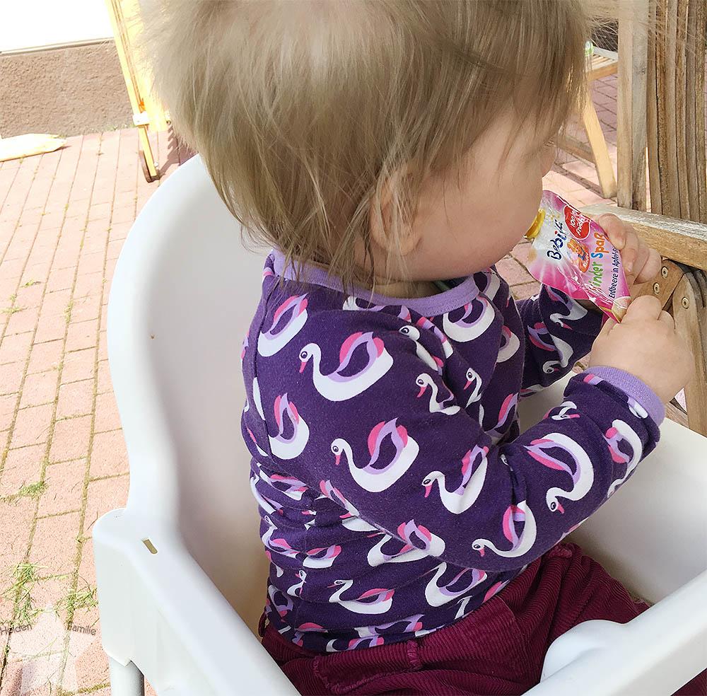 Wochenende in Bildern - ein Vorgeschmack auf den Sommer - Baby mag Quetschis
