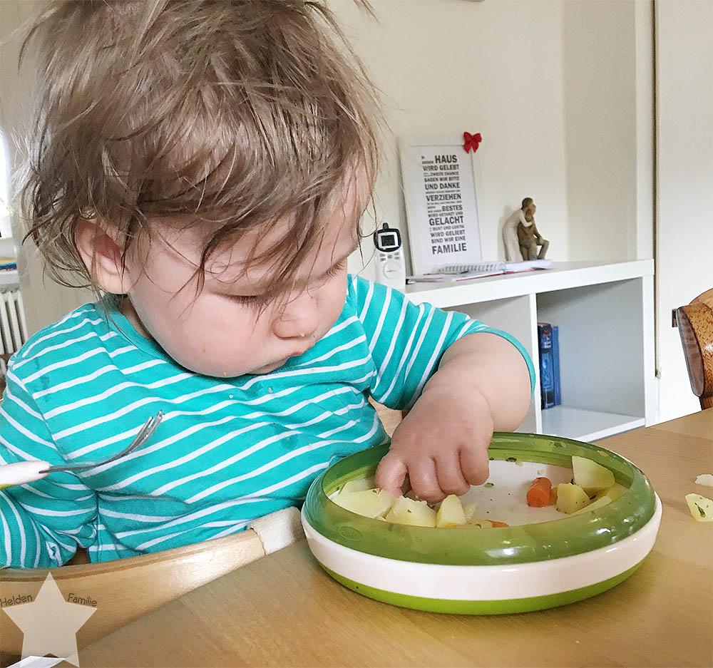 Wochenende in Bildern - ein Vorgeschmack auf den Sommer - Baby isst selbst
