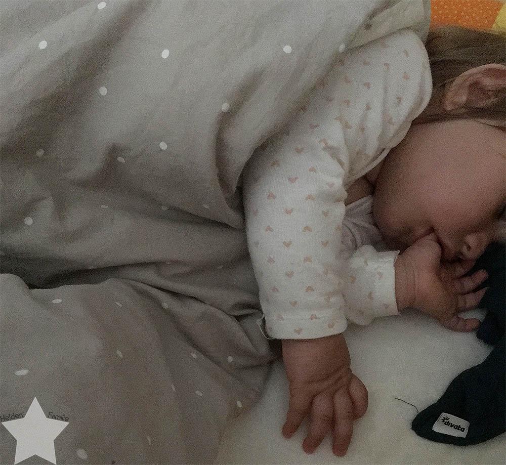 Wochenende in Bildern - Lotte schläft