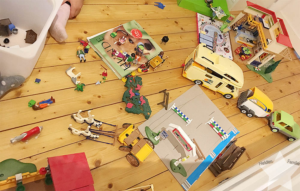 Wochenende in Bildern - Playmobil 3 Jahre nicht bespielt