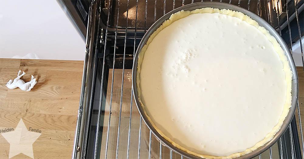 Wochenende in Bildern - Käsekuchen im Ofen