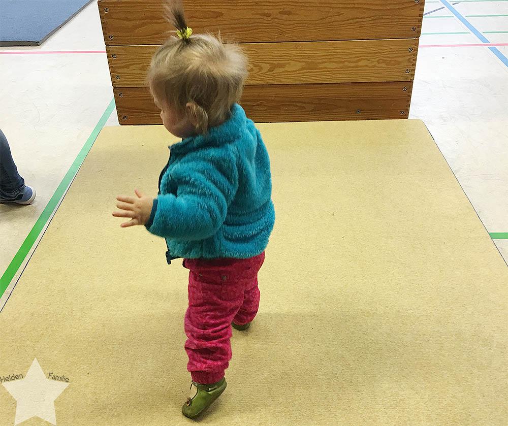Wochenende in Bildern - Baby turnt