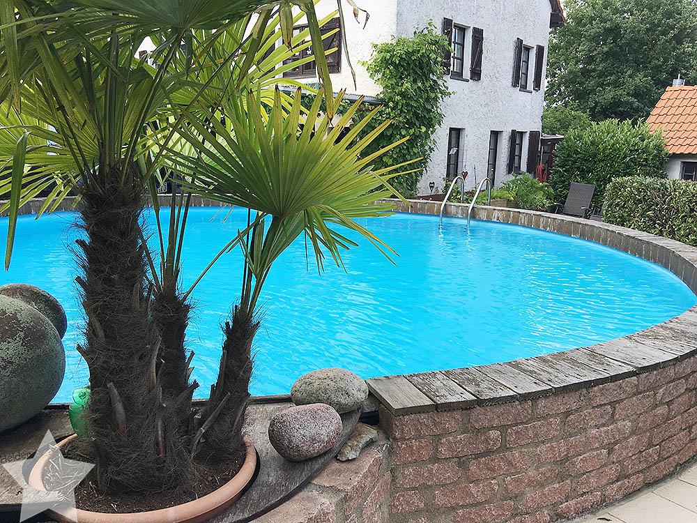 Pool-Party am Samstag - ein Pool zum Verlieben