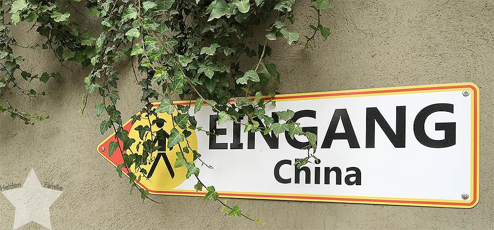 Phantasialand - Wochenende in Bildern - Eingang in China