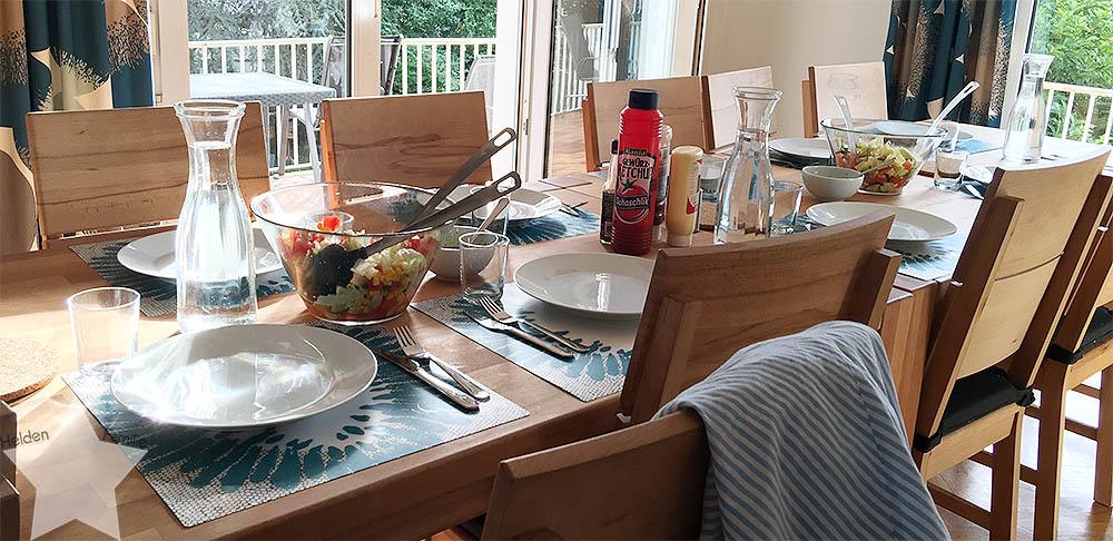 Heimerziehung - Praktikum - Tischdienst