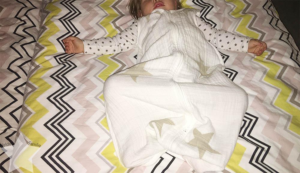 Wochenende in Bildern - Baby ins Bett bringen