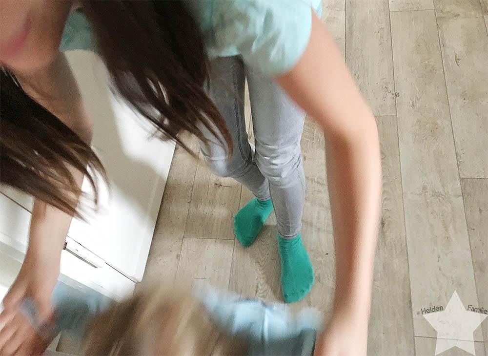 Wochenende in Bildern - tobende Kinder