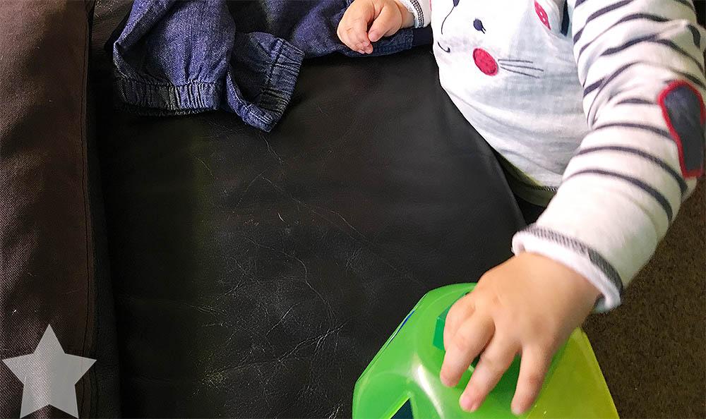 12 von 12 August - Alltagswahnsinn - Spielen mit dem Kleinkind