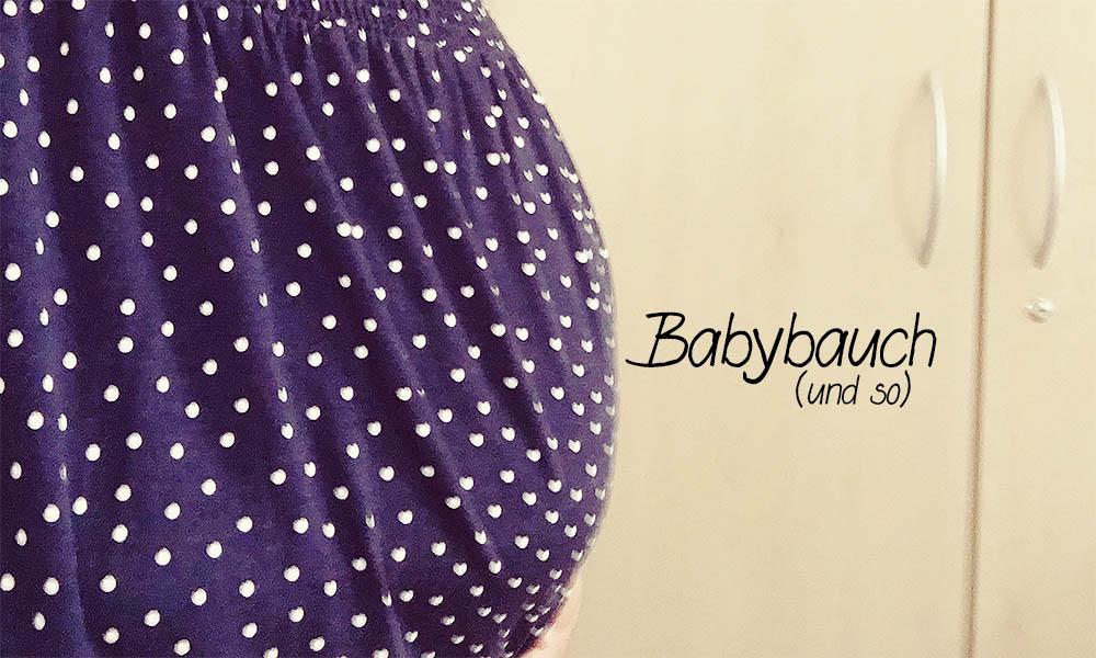Babybauch - 17 Wochen schwanger - Schwangerschaftsupdate