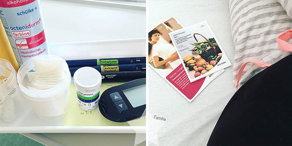 Schwangerschaftsdiabetes im Krankenhaus - Insulin einstellen