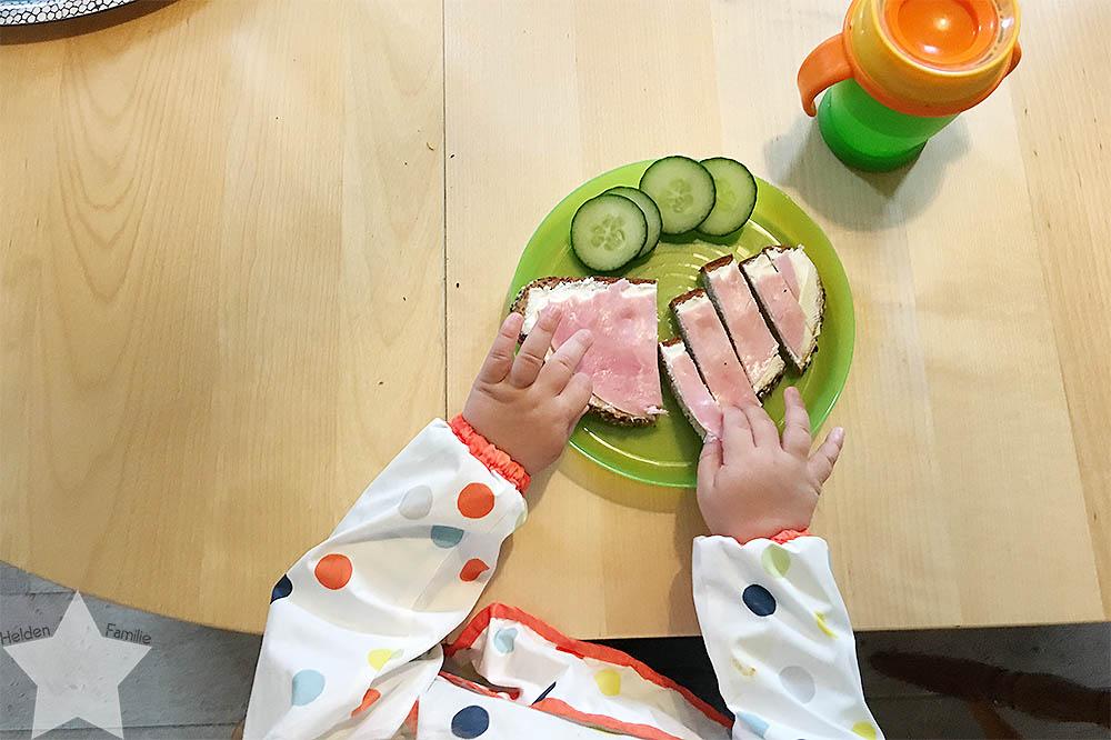 12 von 12 August - Alltagswahnsinn - Abendessen für das Kleinkind