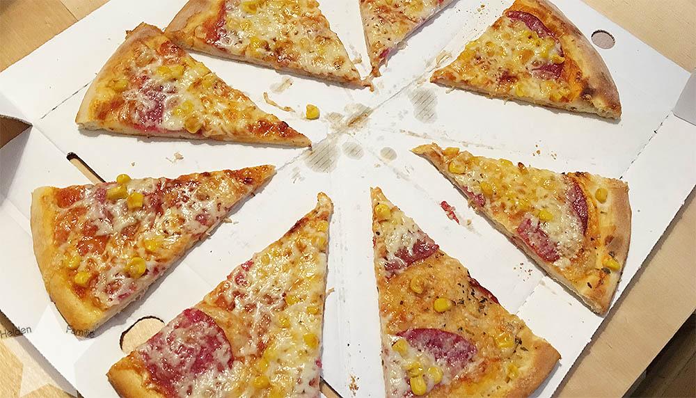 Wochenende in Bildern - Schuhkauf und Baby-Basar - Pizza für alle